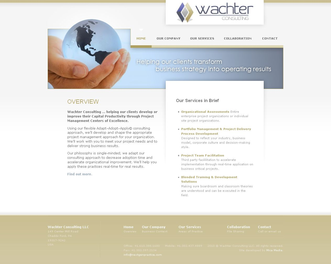 Wachter Consulting