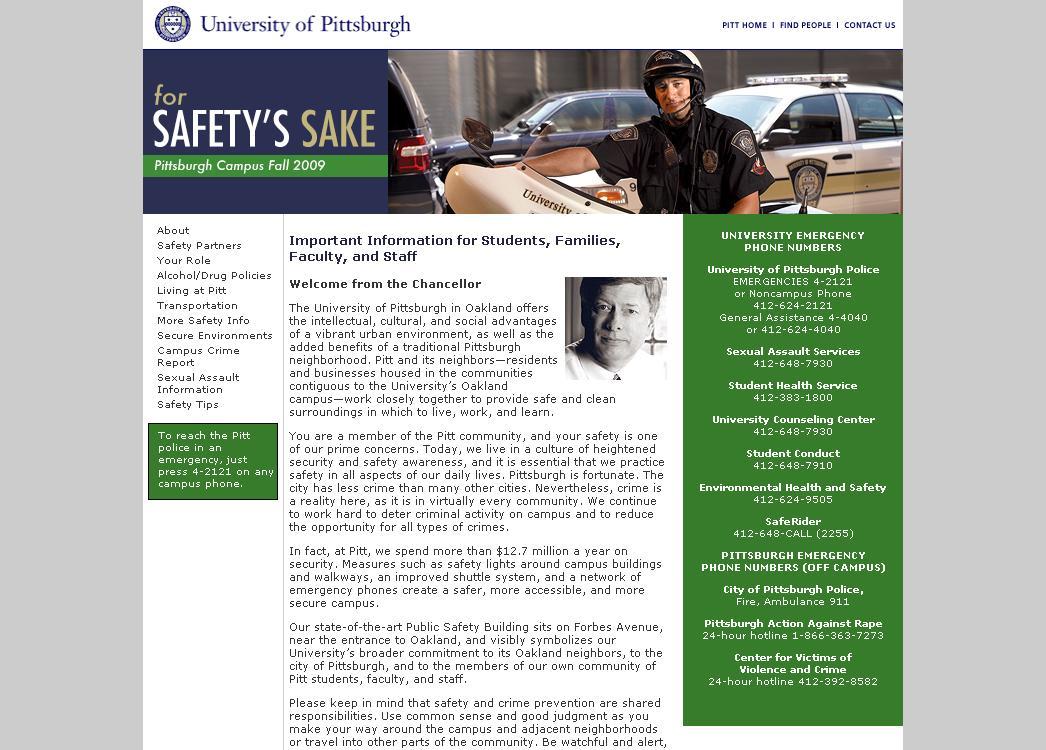 """""""For Safety's Sake"""""""